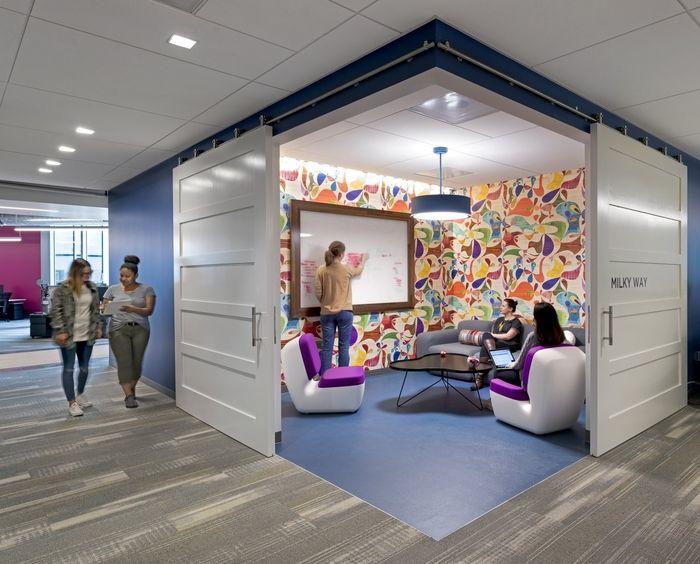espaço colaborativo escritório