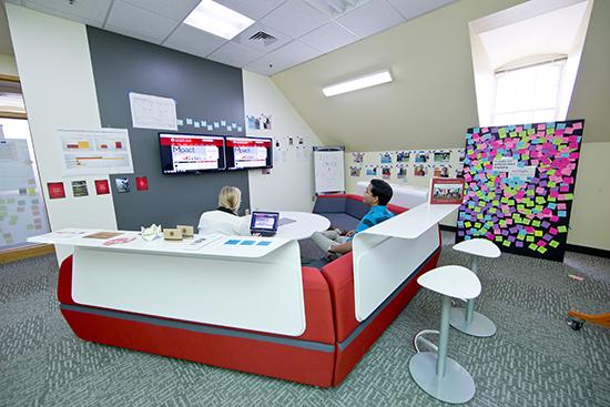 espaços inovadores escritório